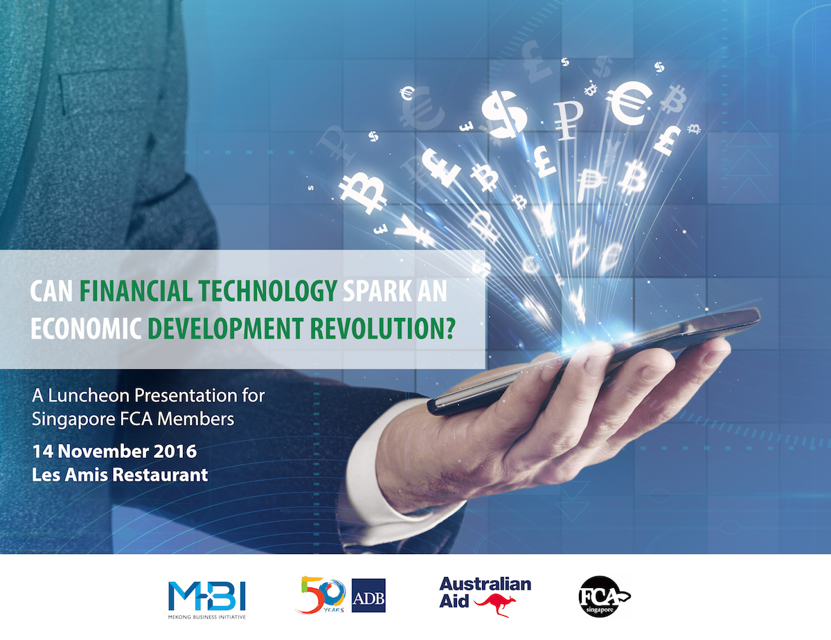 Can Financial Technology Spark an Economic Development Revolution? – A Luncheon Presentation