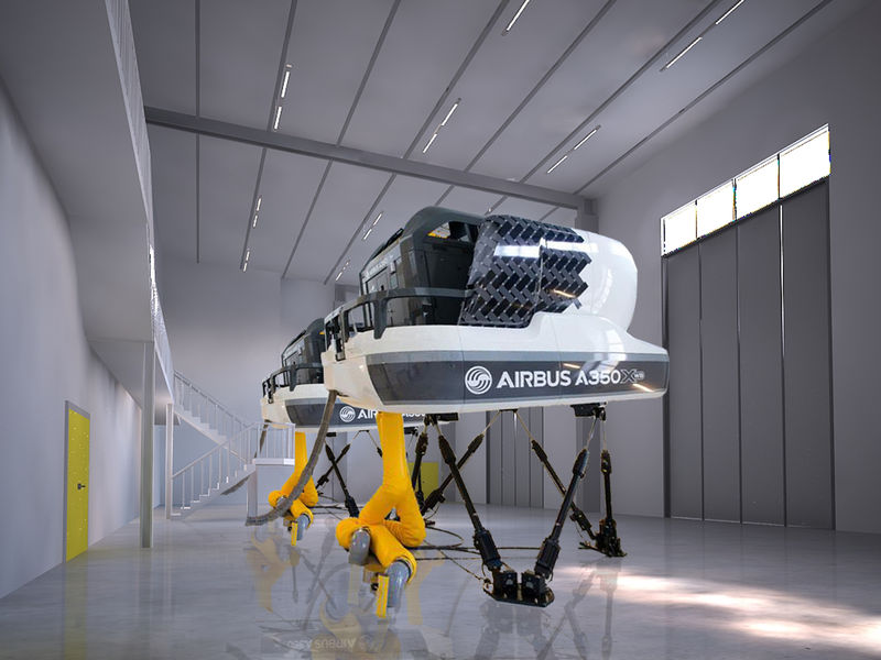 Visit to Airbus facility on June 20 with A350 simulator ride