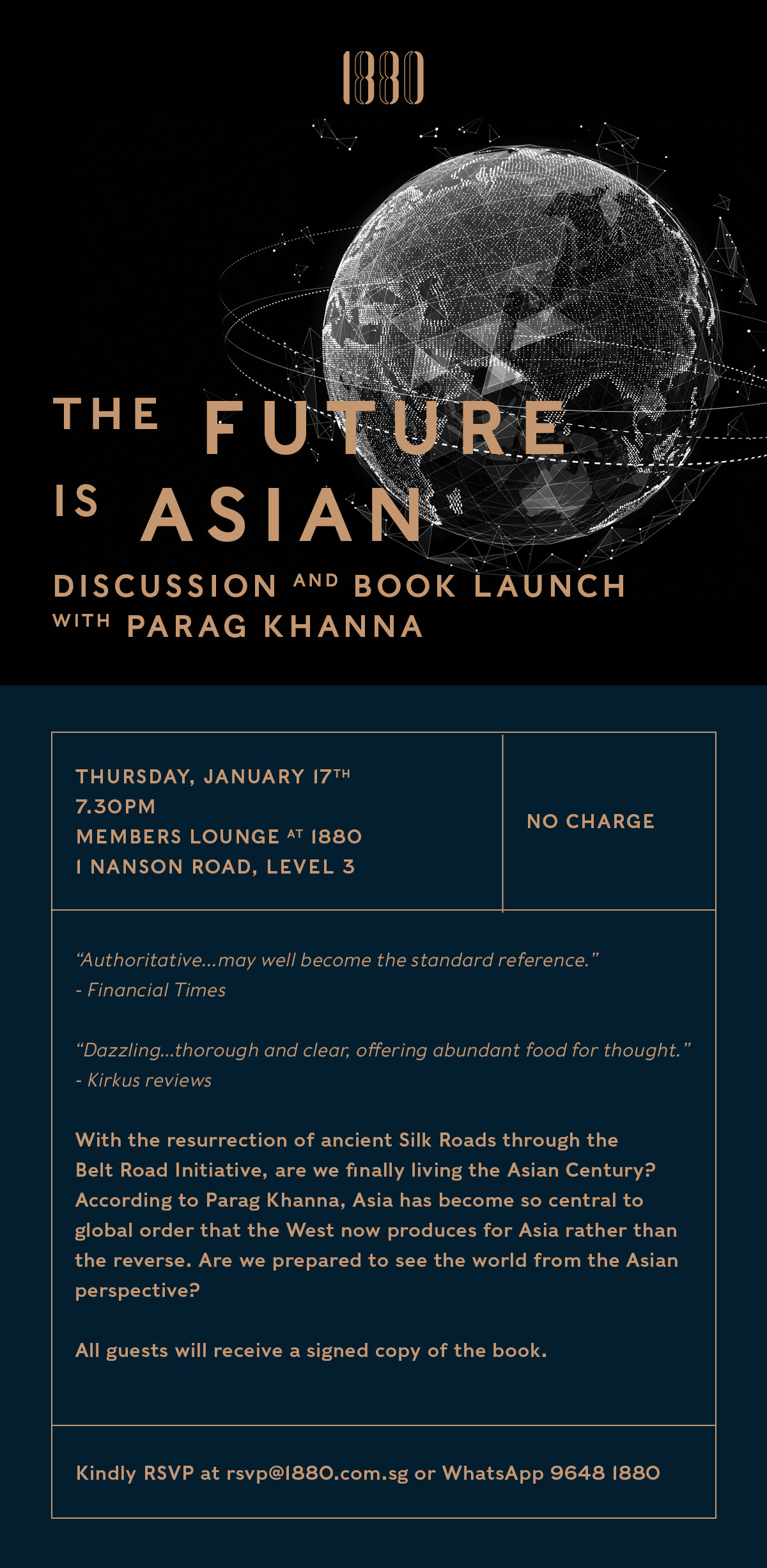 The Future Is Asian: Discussion and Book Launch with Parag Khanna